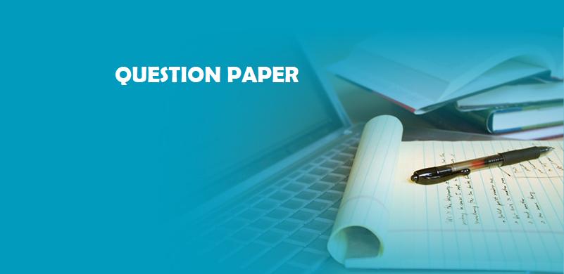 QUESTION PAPER 13-08-2021